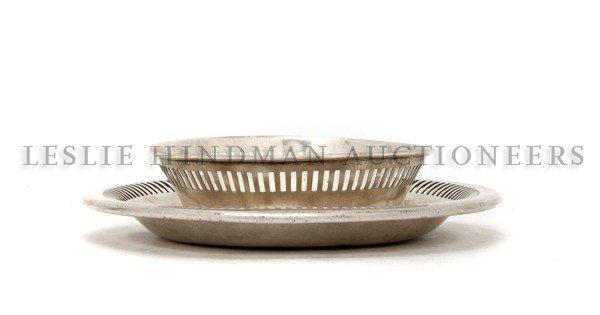 1186: An American Silverplate Dish, Meriden Britannia C