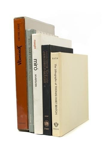 439: (ART) A group of 26 catalogue raisonnes, including