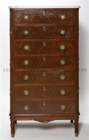 15: A Directoire Style Gilt-Metal Mounted Seminaire, He