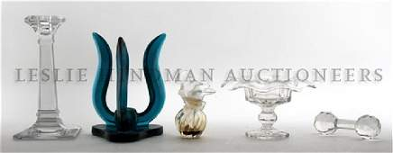 402: A Collection of Decorative Glass Articles, Height