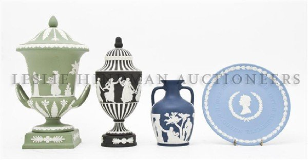 426: A Collection of Four Wedgwood Articles, Height of
