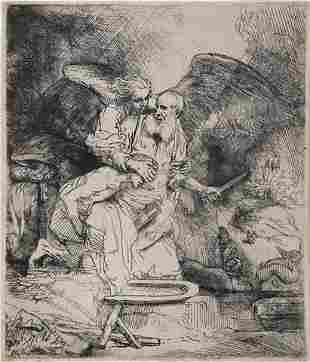 232: Rembrandt van Rijn, (Dutch, 1606-1669), Abraham's