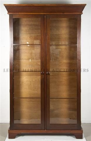 5: A Pair of Mahogany Bookcases, Height 89 1/4 x width