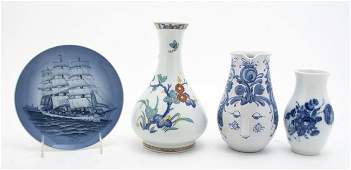 326: A Collection of Continental Porcelain Articles, He
