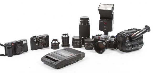 393: A Leica R4 35mm Camera,