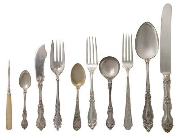 570: An American Silverplate Flatware Service, Roger Br