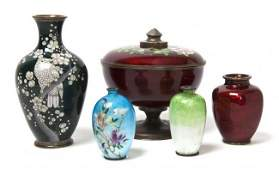 619: A Collection of Chinese Enameled Articles, Height