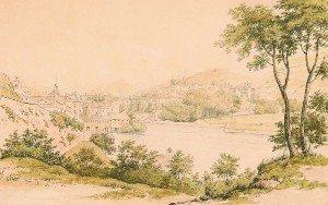 5: William Cowen, (British, 1797-1861), Lake Geneva, Sw