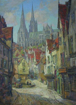 6: Ernest Llewellyn Hampshire, (British, b. 1882), Char