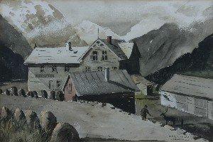 21: Herb Olsen, (American, 20th Century), Wayside Retre