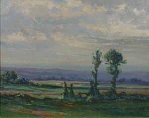 22: Edward R. Sitzman, (American, 1874-1949), Landscape