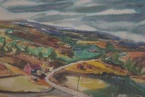 24: David Segel, (American, 20th Century), Two works, L