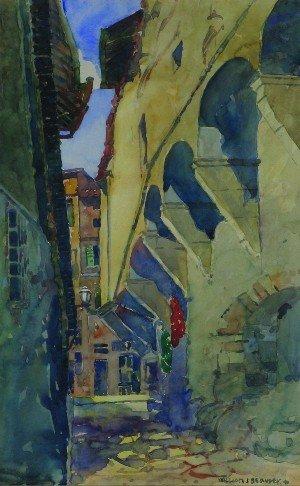 25: William J. Beauley, (American, 1874-1937), European