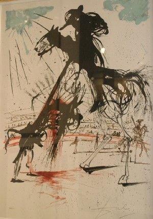 175: Salvador Dali, (Spanish, 1904-1989), Bullfight #5