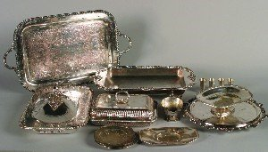 382: A Set of Four American Silver Cordials, Wallace, H