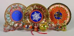 570: A Group of Versace Christmas Articles by Rosenthal