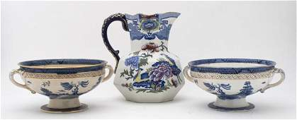 324 A Collection of English Pottery Articles Height o