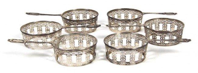 490: A Set of Six American Sterling Silver Ramekin Hold