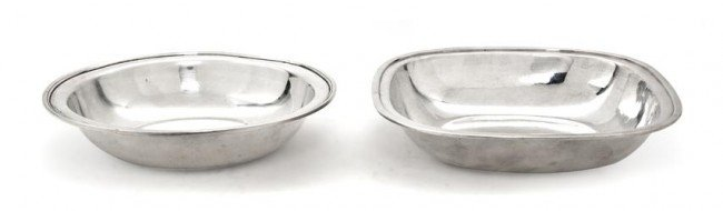 493: A Group of Two American Sterling Silver Bowls, Wid