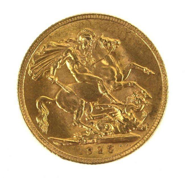 A Group of Seven Foreign Gold Coins,