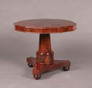 A Victorian Mahogany Center Table,