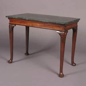 A George III Mahogany Console Table,