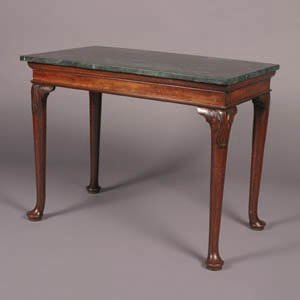 10: A George III Mahogany Console Table,
