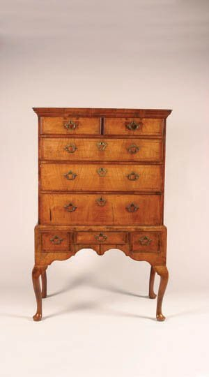 11: An Early Georgian Highboy,