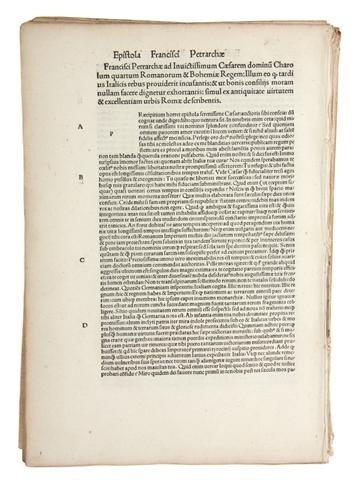 4: (INCUNABLE, LEAVES) A group of 20 incunable leaves.