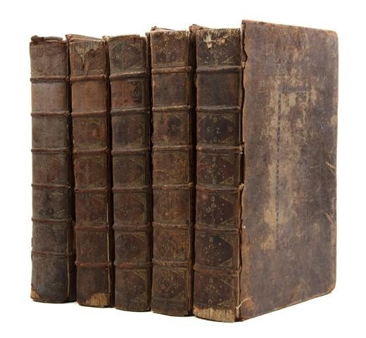 10: BAYLE, (PIERRE). The Dictionary, Historical and Cri