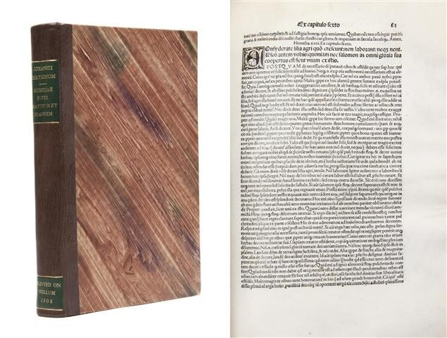 14: CHRYSOSTOMUS, JOHANNES. Operum secundum volumen. Ho
