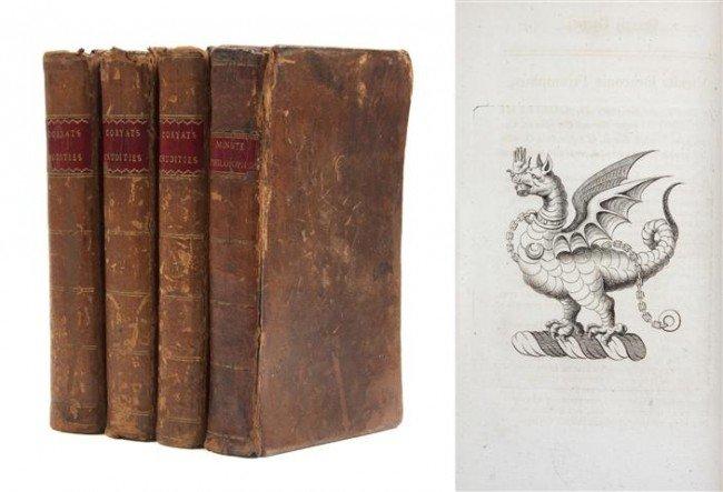 15: CORYATE, THOMAS. Coryat's Crudities. London, 1776.