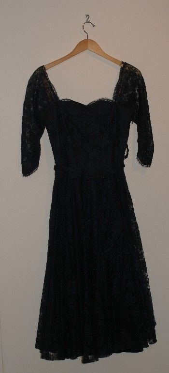 18: Chantilly Lace Party Dress