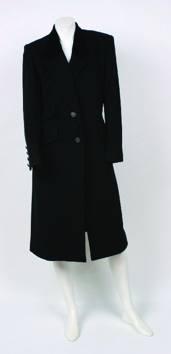 192: Hermes Chesterfield Coat
