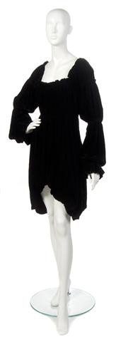9: A Norma Kamali Black Dress,