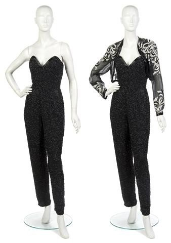 15: A Beaded and Chiffon Jumpsuit,