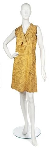 68: A Waste Paper Basket Boutique Yellow Pages Dress.