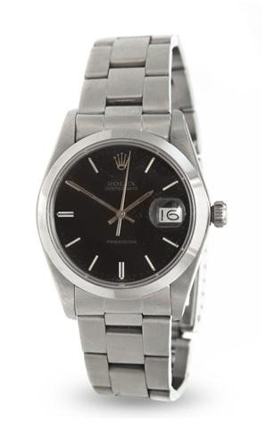 316: A Stainless Steel Oysterdate Precision Wristwatch,