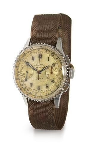 318: A Stainless Steel Ref. 769 Chronomat Wristwatch, B