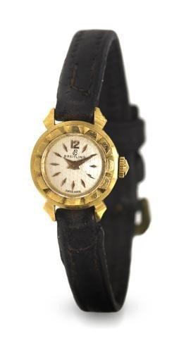 319: An 18 Karat Yellow Gold Wristwatch, Breitling,