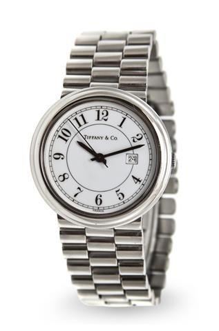 320: A Stainless Steel Wristwatch, Tiffany & Co.,