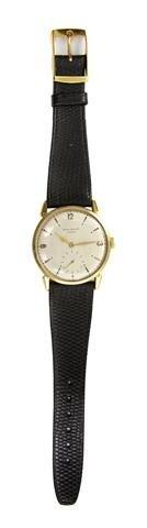 325: An 18 Karat Yellow Gold Ref. 1578 Wristwatch, Pate