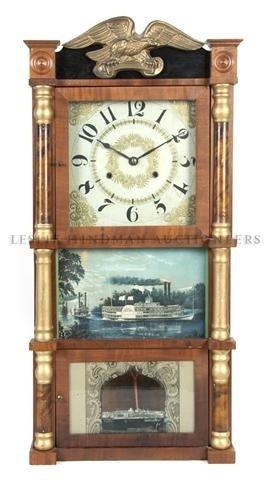 619: An American Wall Clock, Birge, Peck & Co. Height 3