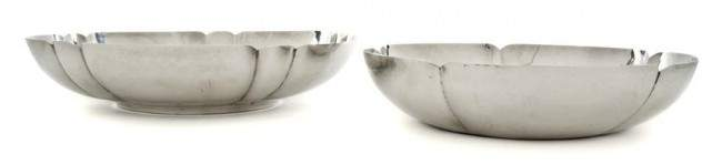 677: Two American Arts and Crafts Sterling Silver Bowls