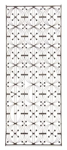 946: A Cast and Wrought Iron Elevator Grille, Dankmar A