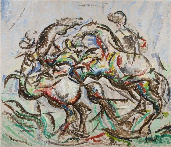 4: Robert Arthur Goodnough, (American, 1917-2010), Move