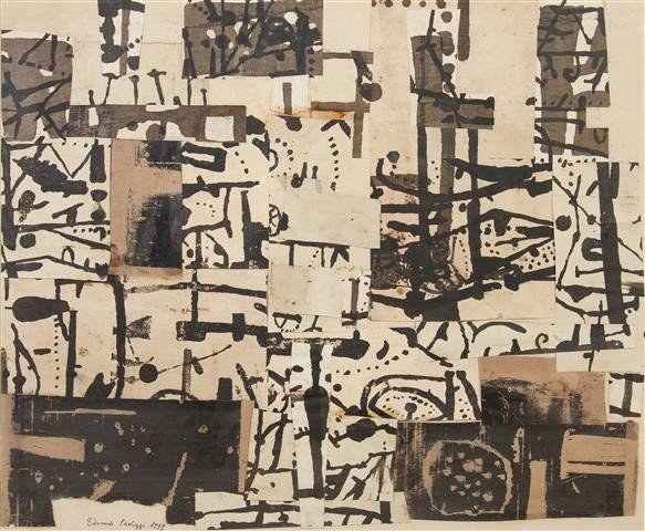 5: Sir Eduardo Paolozzi, (British, 1924-2005), Untitled