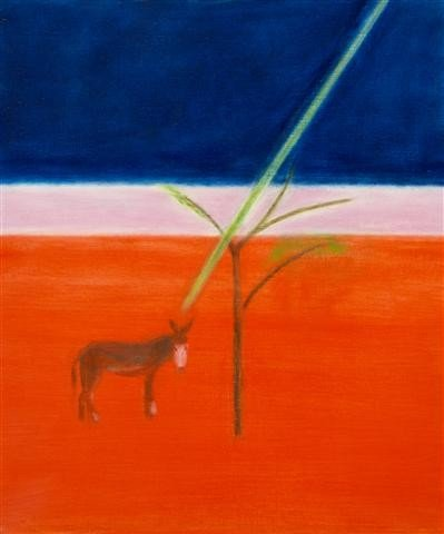 12: Craigie Aitchison, (Scottish, 1926-2009), Donkey un