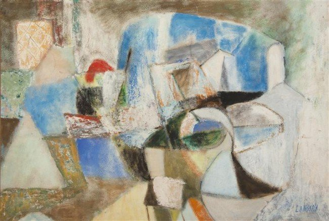 26: Andre Lanskoy, (French, 1902-1976), Abstract