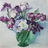 182: Jane Peterson, (American, 1876-1965), Irises
